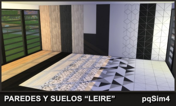 PQSims4: Leire Walls and Floors