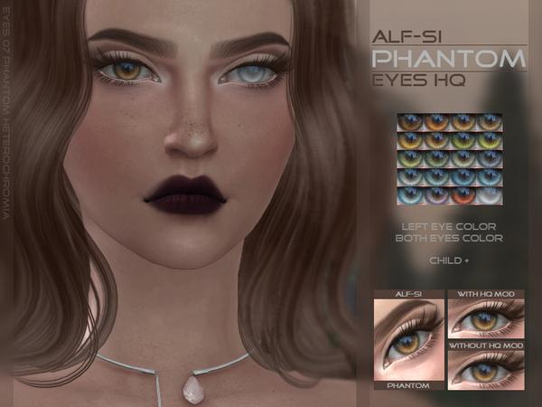 The Sims Resource: Read Description Phantom   Heterochromia Eyes by Alf Si