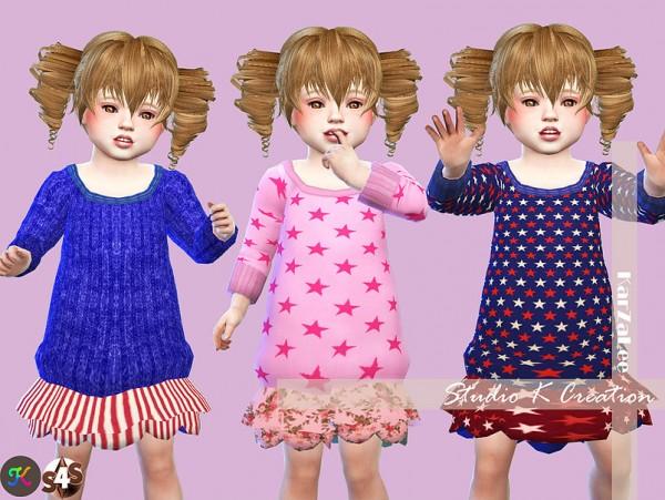 Studio K Creation: Secret Pink   Luludress type C toddler version