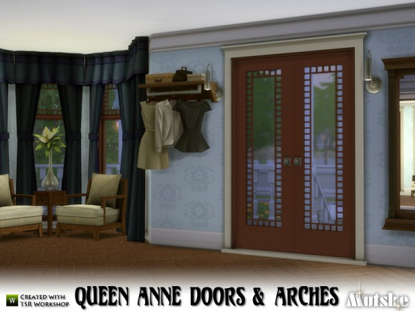 The Sims Resource: Queen Anne Doors and Arches by mutske