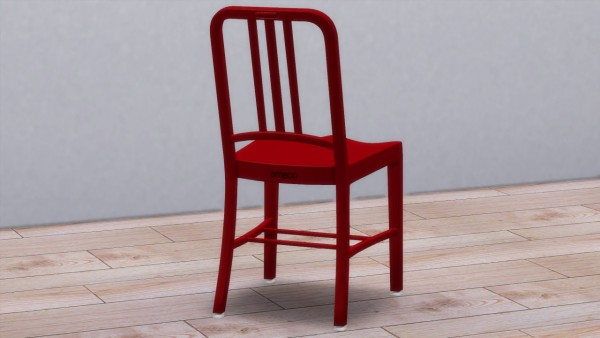 Meinkatz Creations: 111 Navy Chair by Emeco
