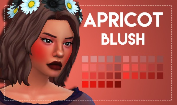 Simsworkshop: Apricot Blush 2.0 by Weepingsimmer