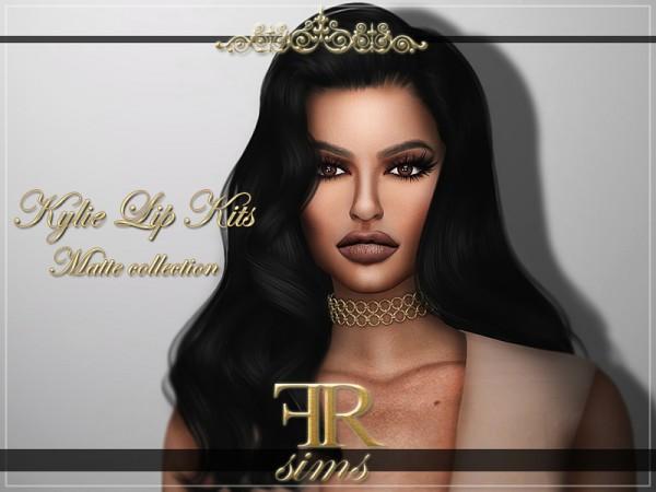 The Sims Resource: Kylie Matte Lip Kits by FashionRoyaltySims