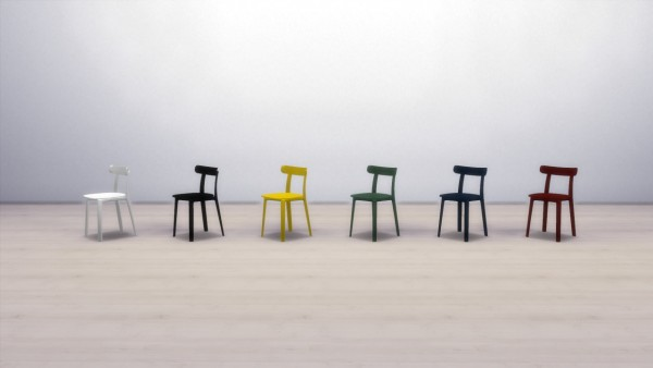 Meinkatz Creations: All Plastic Chair by Vitra
