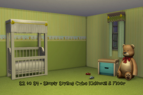 Chillis Sims: Walls for kids room