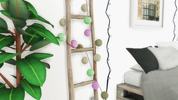 String Lights Sims 4 : MXIMS: Garland and String Lights Sims 4 Downloads