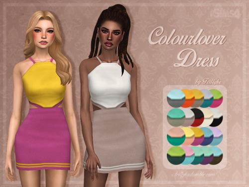 Trillyke: Colourlover Dress