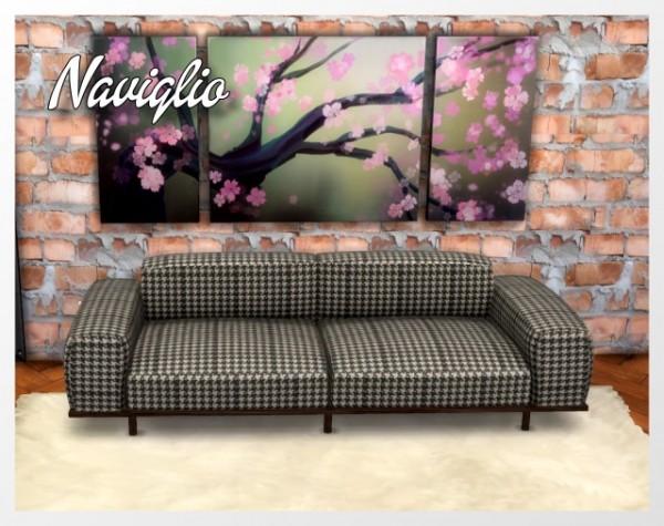 All4Sims: Naviglio Sofa by Oldbox