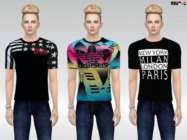 The Sims Resource: Mack Tees by McLayneSims