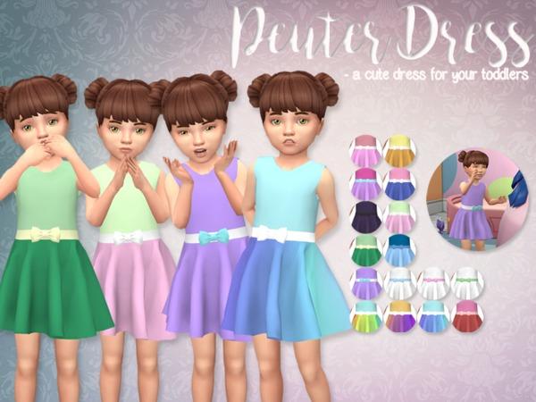The Sims Resource: Peuter Dress by Eenhoorntje