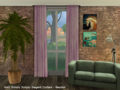 Chillis Sims: Curtain 1