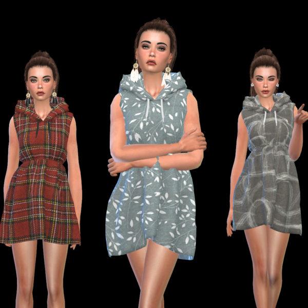 Leo 4 Sims: Sleeveless Dress