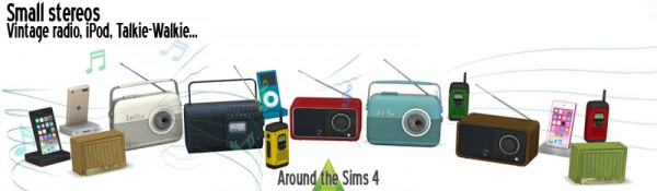 Around The Sims 4: Small stereos