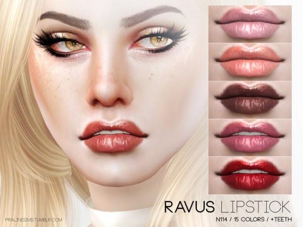 The Sims Resource: Ravus Lipstick N114 by Pralinesims