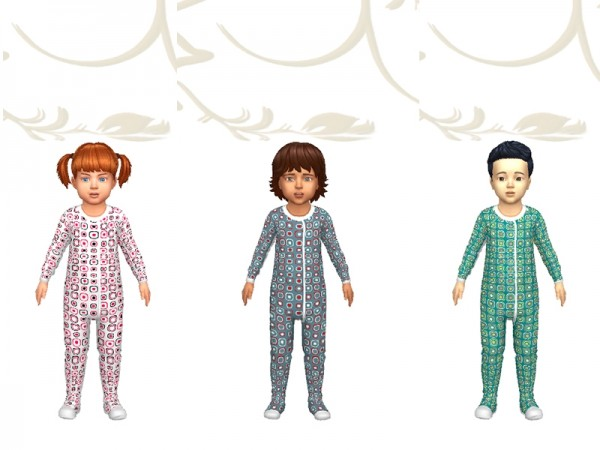 Sims Artists: Pajama Monoma