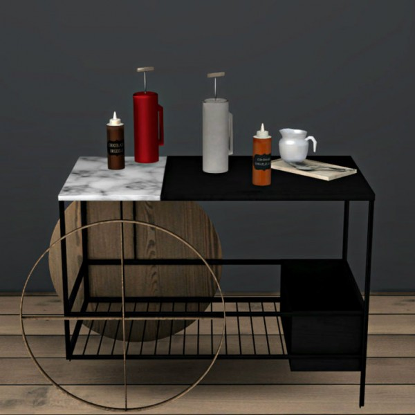 Leo 4 Sims: Coffee Set Pt 2