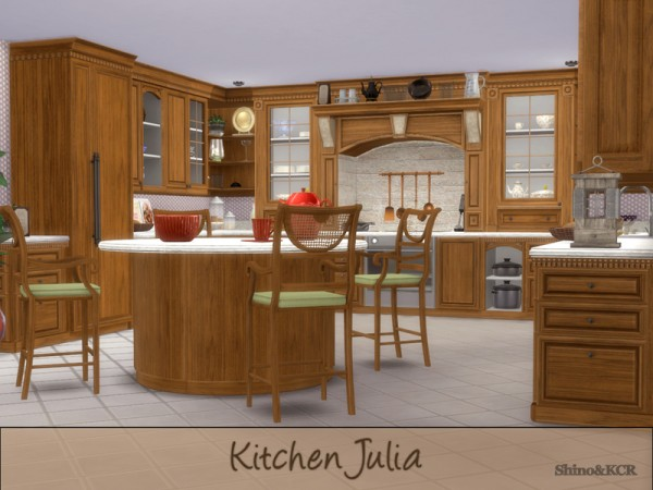 The Sims Resource: Kitchen Julia by ShinoKCR