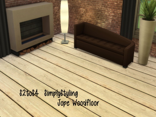 Chillis Sims: Simply Styling Jope Woodfloor