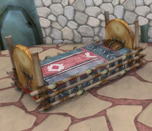 Simsworkshop: Castaway Stories Crib As a Toddler Bed by BigUglyHag