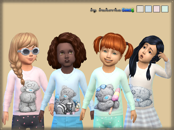 The Sims Resource: Sweater Teddy by bukovka
