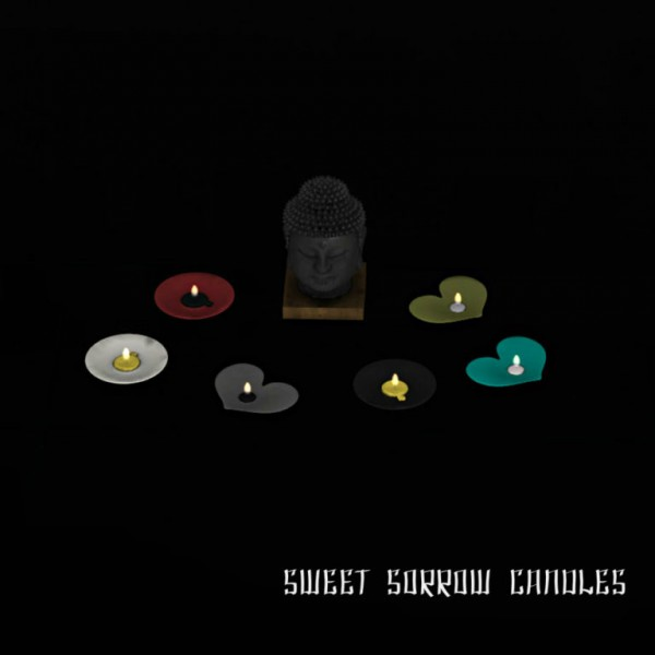 Leo 4 Sims: Sweet Sorrow Candles