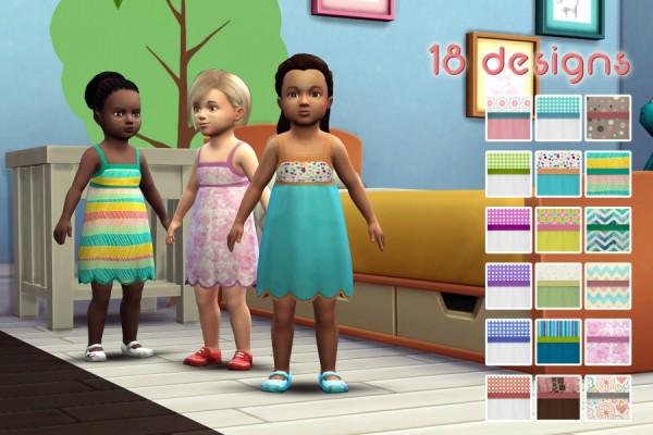 Sims Artists: Fiona dress