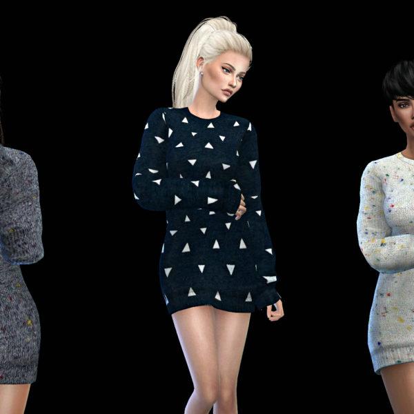 Leo 4 Sims: Kourtney Dress