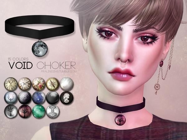 The Sims Resource: Void Choker U by Pralinesims