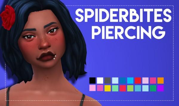 Simsworkshop: Spider Bites Piercing by Weepingsimmer