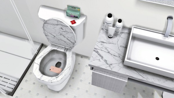 Mxims Lavabo Sink And Warsaw Bathroom Toilet Sims 4