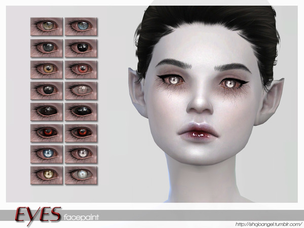 The Sims Resource: EyeSet5 by ShojoAngel