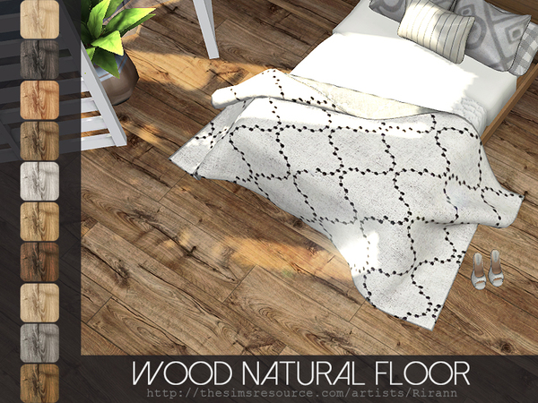 The Sims Resource: Wood Natural Floor by Rirann