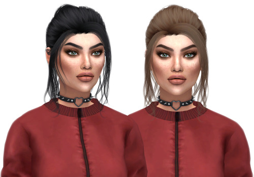 Kenzar Sims: Anto Blossom hairstyle retextures