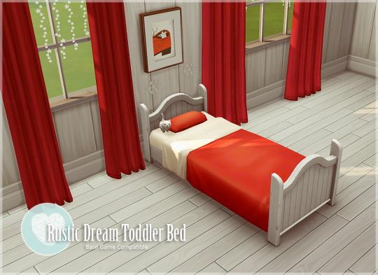 Allisas: Rustic Dream Toddler Bed