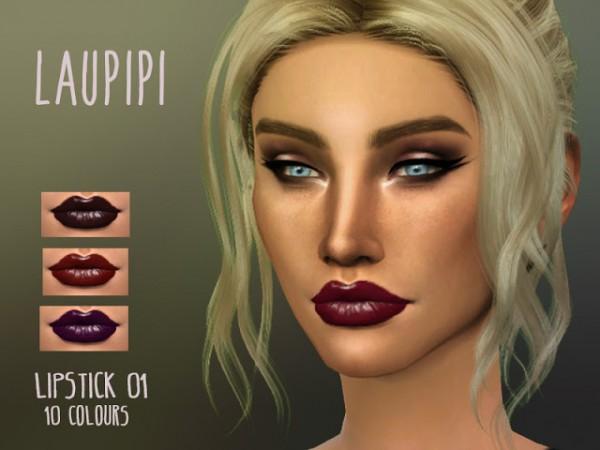 Laupipi: Lipstick 01