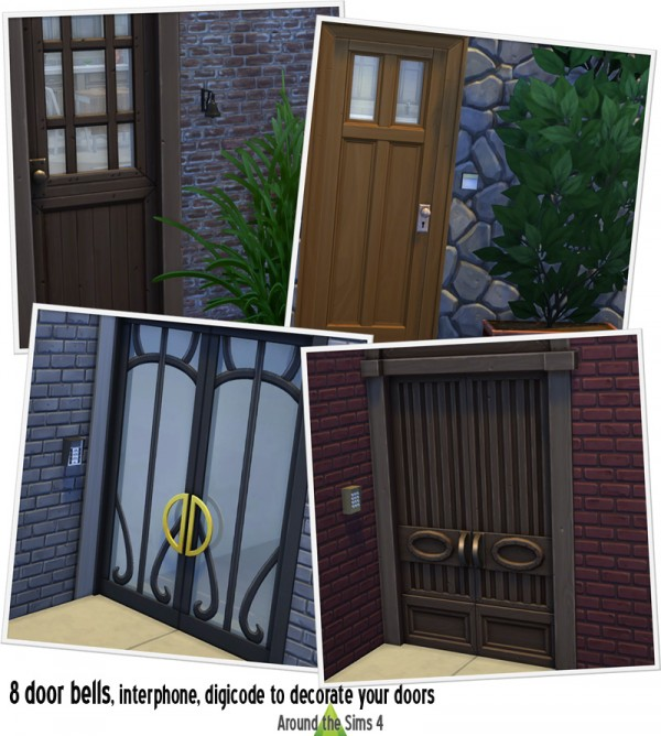 Around The Sims 4: Door bells
