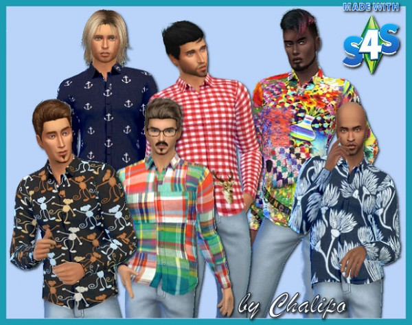 All4Sims: Shirt 12 by Chalipo