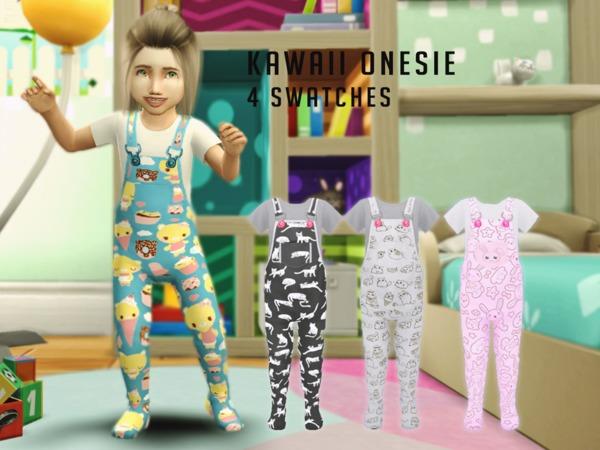 The Sims Resource Kawaii Onesie By Dreacia Sims 4 Downloads