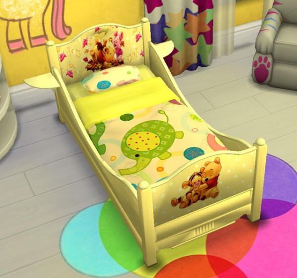 Sanjana Sims Classic Toddler Bed Sims 4 Downloads