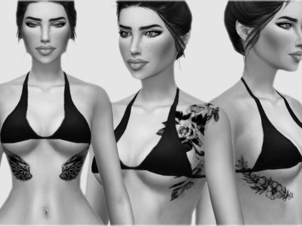 The Sims Resource: Tattoo Set 2 by mxfsims