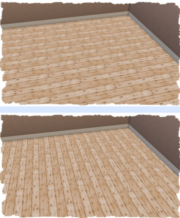 All4Sims: Wooden floor 1 by Chalipo