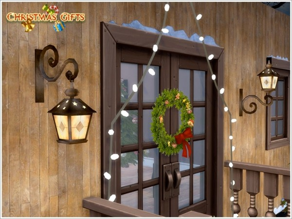 The Sims Resource: Christmas Light set by Severinka