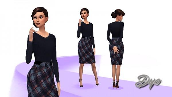Les Sims 4: Scottish dress
