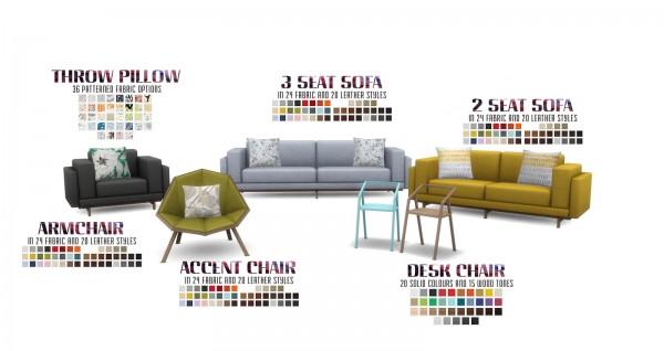 Simsational Designs Myra Living Sims 4 Downloads