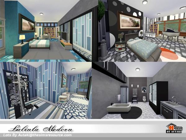 The Sims Resource: Lalinta Modern house by Autaki