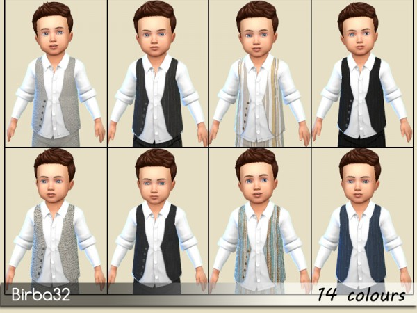 The Sims Resource: Like dad   Classic vest by Birba32