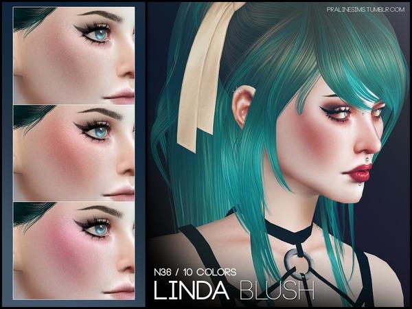 The Sims Resource: Linda Blush N36 by Pralinesims