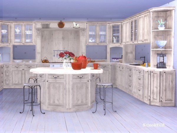 The Sims Resource: Kitchen French Country by Shino KCR
