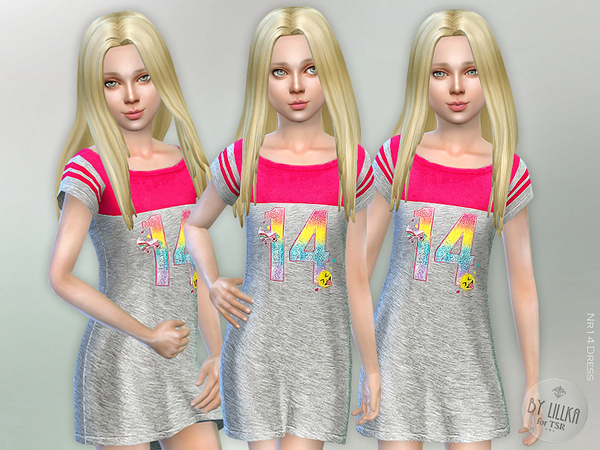 The Sims Resource: Nr14 Dress by lillka