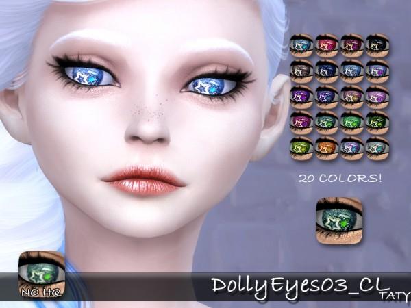 Simsworkshop: Dolly Eyes 03 by Taty